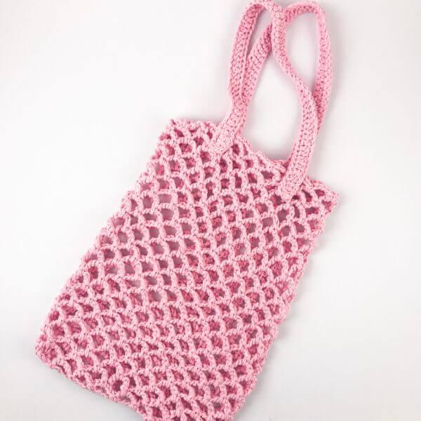 Плетеная сумка