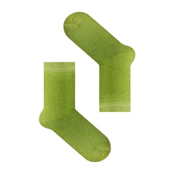 Light green dust